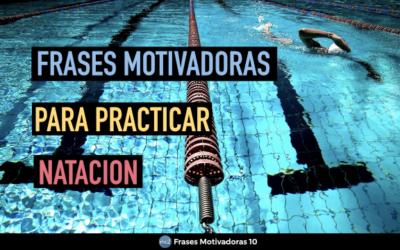 Frases Motivadoras Natacion