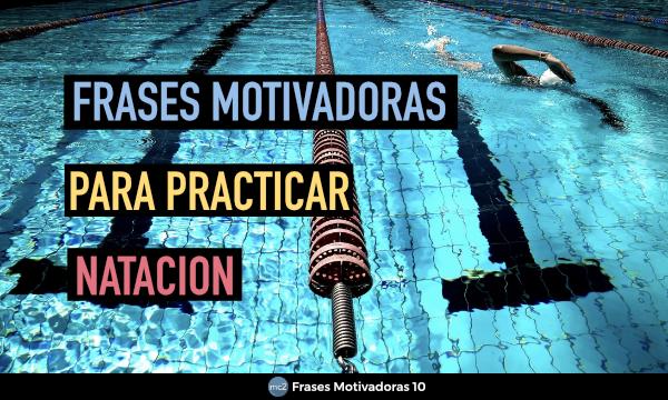 Frases motivadoras de Natación