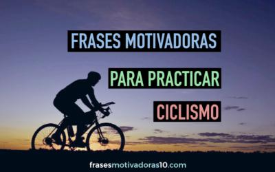 Frases Motivadoras Ciclismo