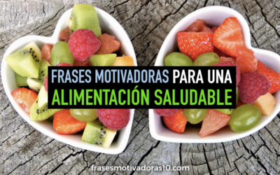 Frases de Alimentacion Saludable