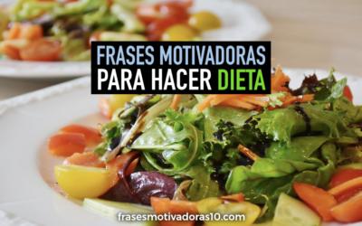 Frases motivadoras de Dieta