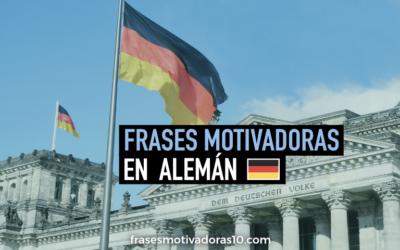 Frases Motivadoras en Aleman