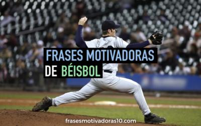 Frases Motivadoras Beisbol