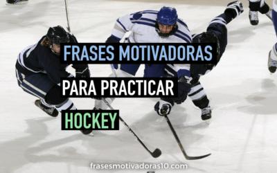 Frases Motivadoras Hockey