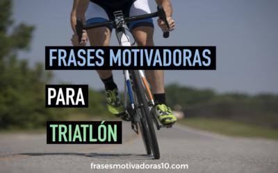 Frases Motivadoras Triatlon
