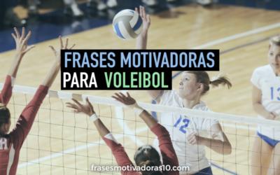 Frases Motivadoras Voleibol