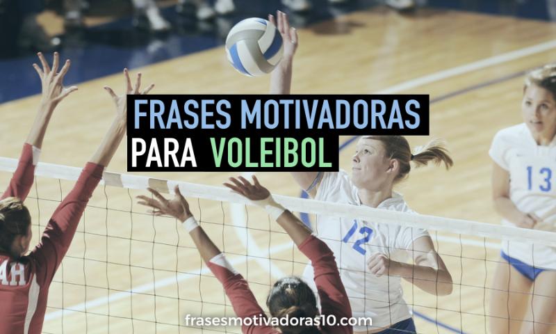 Frases Motivadoras de Voleibol